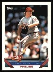 1993 Topps #421  Curt Schilling  Front Thumbnail