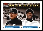 1993 Topps #504   -  Gene Lamont / Don Baylor Managers Front Thumbnail