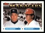 1993 Topps #510   -  Buck Showalter / Jim Fregosi Managers Front Thumbnail