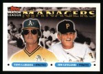 1993 Topps #511   -  Tony La Russa / Jim Leyland Managers Front Thumbnail