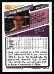1993 Topps #523  Doug Bochtler  Back Thumbnail