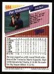 1993 Topps #684  Pat Mahomes  Back Thumbnail