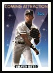 1993 Topps #800  Shawn Jeter  Front Thumbnail