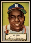 1952 Topps #27 RED Sam Jethroe  Front Thumbnail