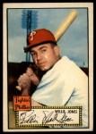 1952 Topps #47 RED Willie Jones  Front Thumbnail