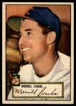 1952 Topps #18 RED Merrill Combs  Front Thumbnail