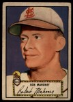 1952 Topps #58 RED Bob Mahoney  Front Thumbnail
