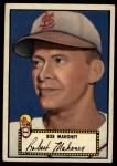 1952 Topps #58 BLK Bob Mahoney  Front Thumbnail
