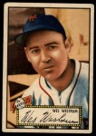 1952 Topps #75 RED Wes Westrum  Front Thumbnail