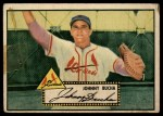 1952 Topps #19 RED Johnny Bucha  Front Thumbnail