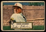 1952 Topps #46 RED Gordon Goldsberry  Front Thumbnail