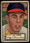 1952 Topps #68  Cliff Chambers  Front Thumbnail