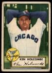 1952 Topps #95  Ken Holcombe  Front Thumbnail