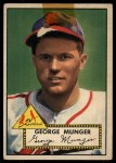 1952 Topps #115  Red Munger  Front Thumbnail