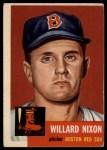 1953 Topps #30  Willard Nixon  Front Thumbnail