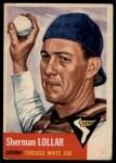 1953 Topps #53  Sherm Lollar  Front Thumbnail