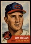 1953 Topps #80  Jim Hegan  Front Thumbnail