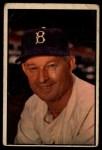 1953 Bowman #124  Chuck Dressen  Front Thumbnail