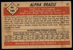 1953 Bowman #140  Al Brazle  Back Thumbnail