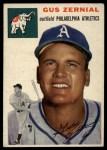 1954 Topps #2  Gus Zernial  Front Thumbnail
