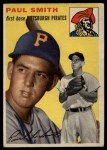 1954 Topps #11  Paul Smith  Front Thumbnail