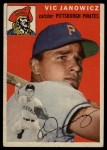 1954 Topps #16  Vic Janowicz  Front Thumbnail
