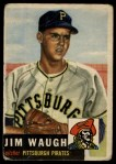 1953 Topps #178  Jim Waugh  Front Thumbnail