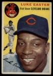 1954 Topps #23  Luke Easter  Front Thumbnail