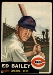 1953 Topps #206  Ed Bailey  Front Thumbnail