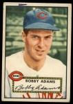 1952 Topps #249  Bobby Adams  Front Thumbnail