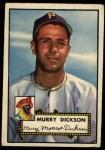 1952 Topps #266  Murry Dickson  Front Thumbnail