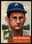 1953 Topps #103  Joe Astroth  Front Thumbnail