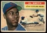 1956 Topps #105 GRY Al Smith  Front Thumbnail