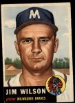 1953 Topps #208  Jimmy Wilson  Front Thumbnail