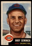 1953 Topps #153  Andy Seminick  Front Thumbnail
