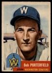 1953 Topps #108  Bob Porterfield  Front Thumbnail