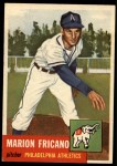 1953 Topps #199  Marion Fricano  Front Thumbnail