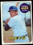 1969 Topps #364  Tommie Agee  Front Thumbnail