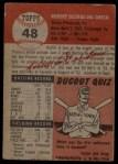 1953 Topps #48  Bobby Del Greco  Back Thumbnail