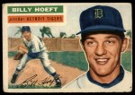 1956 Topps #152  Billy Hoeft  Front Thumbnail