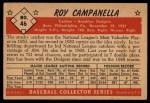 1953 Bowman #46  Roy Campanella  Back Thumbnail