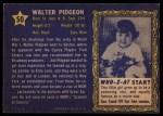 1953 Topps Who-Z-At Star #50  Walter Pidgeon  Back Thumbnail
