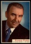 1953 Topps Who-Z-At Star #74  Preston Foster  Front Thumbnail