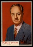1953 Topps Who-Z-At Star #30  William Powell  Front Thumbnail