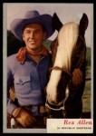 1953 Topps Who-Z-At Star #2  Rex Allen  Front Thumbnail