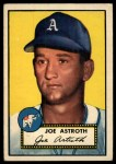 1952 Topps #290  Joe Astroth  Front Thumbnail