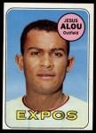 1969 Topps #22  Jesus Alou  Front Thumbnail
