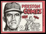 1969 Topps #74  Preston Gomez  Back Thumbnail