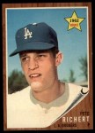 1962 Topps #131 NRM Pete Richert  Front Thumbnail