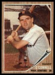 1962 Topps #411  Danny O'Connell  Front Thumbnail